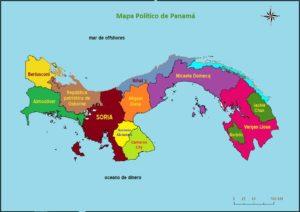 Nuevo Mapa de Panama
