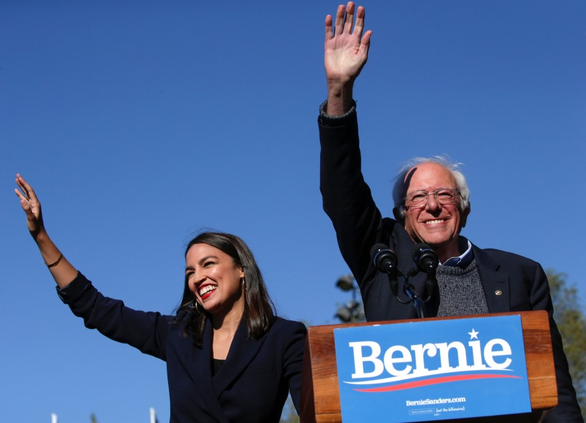 El programa socialista de Bernie Sanders el candidato demócrata a la presidencia de EEUU